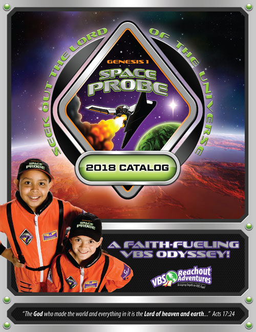 2018 Space Probe Catalog - Vacation Bible School